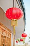 Lanterna rossa cinese Fotografia Stock Libera da Diritti