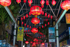Lanterna rossa cinese Immagine Stock Libera da Diritti