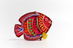 Lanterna rossa del pesce Fotografie Stock Libere da Diritti