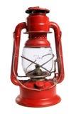 Lanterna rossa della ferrovia Immagine Stock