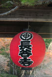Lanterna rossa giapponese Fotografia Stock
