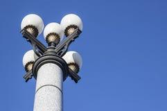 Lanterna sferica su un fondo di cielo blu Fotografia Stock Libera da Diritti