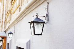 Lanterna sulla parete Fotografia Stock