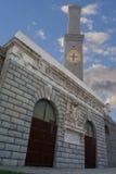 Lanterna symbol av Genua, Italien Arkivfoton