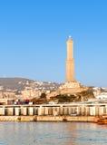 Lanterna: symbool van de stad van Genua Royalty-vrije Stock Foto