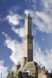 Lanterna: symbool van de stad van Genua Stock Afbeeldingen