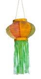 Lanterna tailandese isolata di lanna Fotografia Stock