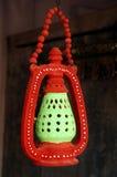 Lanterna tradicional da argila Fotos de Stock
