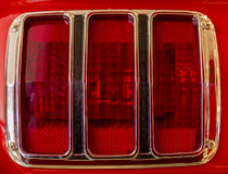 Lanterna traseira de Ford Mustang Foto de Stock Royalty Free