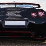 Lanterna traseira do carro desportivo imagem de stock royalty free