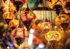 Lanterna variopinta turca del mosaico Fotografia Stock Libera da Diritti