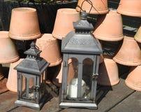 Lanterna velha Foto de Stock