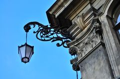 Lanterna velha da rua foto de stock royalty free
