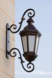 Lanterna velha da rua fotos de stock