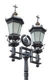 Lanterna velha da rua do ferro Imagem de Stock Royalty Free