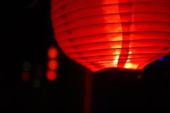 Lanterna vermelha Fotos de Stock