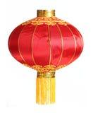 Lanterna vermelha Fotos de Stock Royalty Free