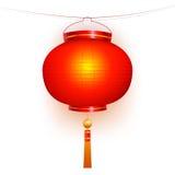 Lanterna vermelha. Imagens de Stock Royalty Free