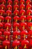 Lanterna vermelha Imagens de Stock