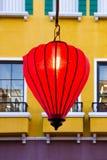 Lanterna vermelha a comemorar Fotos de Stock