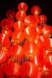 Lanterna vermelha de suspensão Imagens de Stock Royalty Free