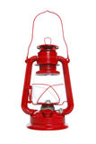 Lanterna vermelha isolada fotos de stock royalty free