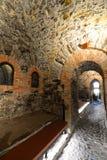 Lanternamuseum, de vuurtoren van de stad van Genua Genua Camogli, Italië stock fotografie