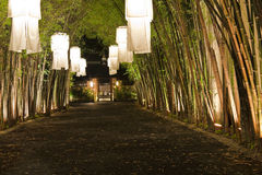 Lanternas asiáticas. Fotografia de Stock