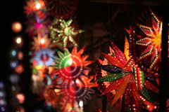 Lanternas bonitas de Diwali Fotos de Stock Royalty Free