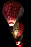 Lanternas caseiros com luminosidade reduzida Imagem de Stock Royalty Free