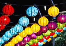 Lanternas chinesas Fotos de Stock