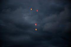 Lanternas chinesas Foto de Stock