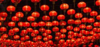 Lanternas chinesas do ano novo Fotografia de Stock