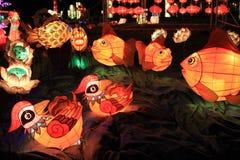 Lanternas chinesas, Hong Kong Imagens de Stock