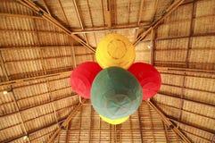 Lanternas coloridas Fotos de Stock