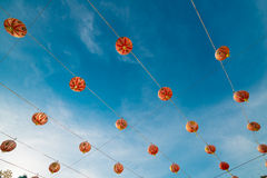 Lanternas de Chineses foto de stock royalty free