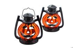 Lanternas de Halloween fotos de stock