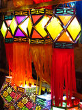 Lanternas de Tradional Diwali Foto de Stock Royalty Free