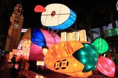 Lanternas do chinês tradicional foto de stock royalty free