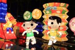 Lanternas do chinês tradicional fotos de stock
