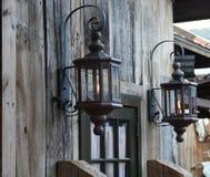 Lanternas do gás Foto de Stock Royalty Free