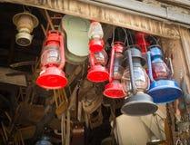 Lanternas do vintage fotografia de stock royalty free