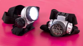 Lanternas elétricas Fotos de Stock