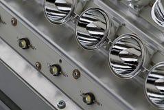 Lanternas elétricas do diodo emissor de luz Imagem de Stock