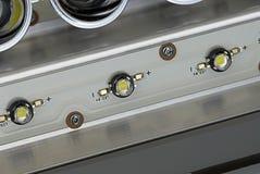 Lanternas elétricas do diodo emissor de luz Fotos de Stock Royalty Free