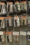 Lanternas elétricas na loja Fotos de Stock