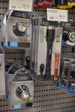 Lanternas elétricas na loja Imagem de Stock