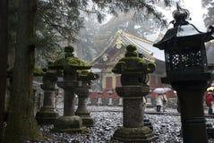 Lanternas em Nikko Imagens de Stock