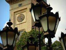 Lanternas em um fundo Fotos de Stock Royalty Free