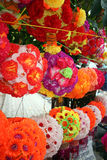 Lanternas florais Foto de Stock Royalty Free